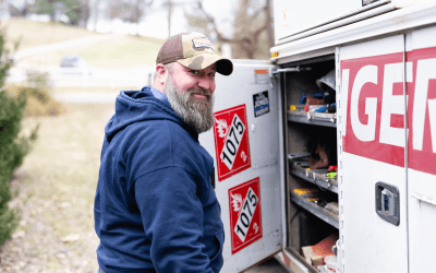Company and nonprofit team up to help Keswick family stay warm